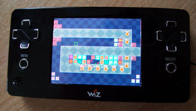 The GP2X Wiz had a touchscreen